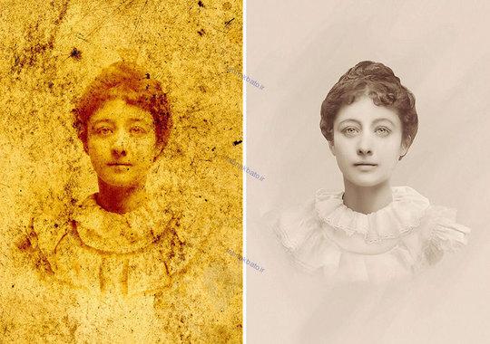 بازسازی عکس های قدیمی به دست خانم تاتیانا دیاچنکو هنرمند اکراینی