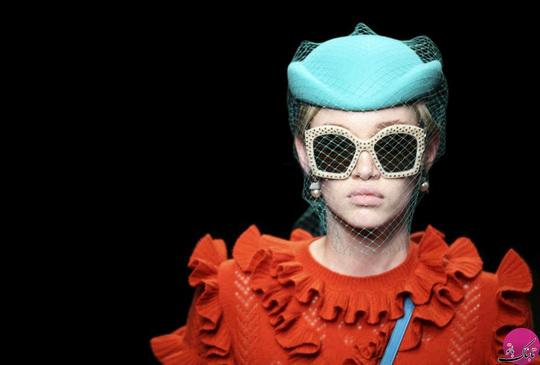 برند لباس: گوچی (Gucci)، عکاس: Stefano Rellandini؛ هفته مد 2017 میلان ایتالیا
