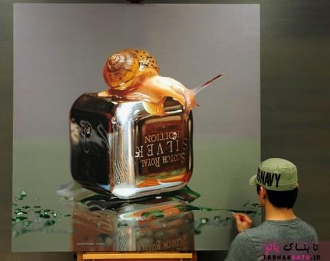 نقاشی های رنگ روغن رئال فوق نزدیک به واقعیت