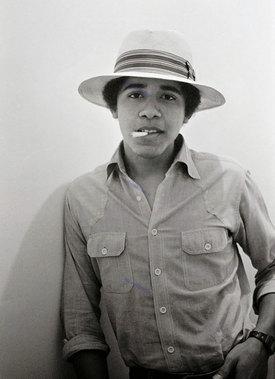 باراک اوباما در 18 سالگی