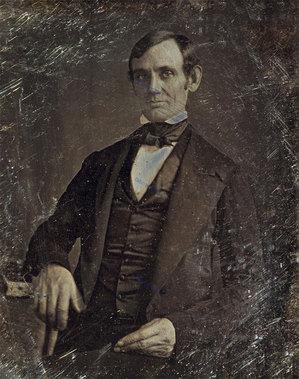 آبراهام لینکلن نزدیک به 40 سالگی (قدیمی ترین عکس تأیید شده)