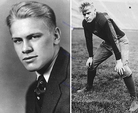 جرالد فورد در 18 و 20 سالگی