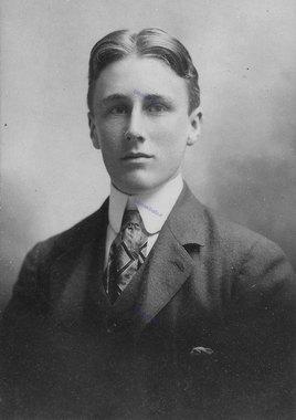 فرانکلین روزولت در 18 سالگی