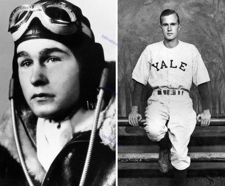 جورج اچ. دابلیو. بوش در 18 سالگی