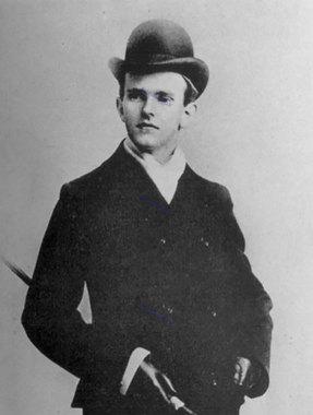 کالوین کولیج با سنی حدود 19 تا 23 سالگی