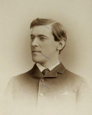 وودرو ویلسون در سن 19 سالگی
