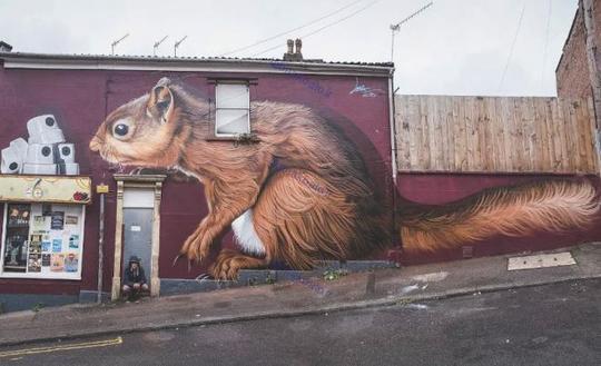 فستیوال گرافیتی و هنر خیابانی هارتفورد 2017