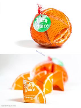 ایده های بسته بندی آب پرتقال
