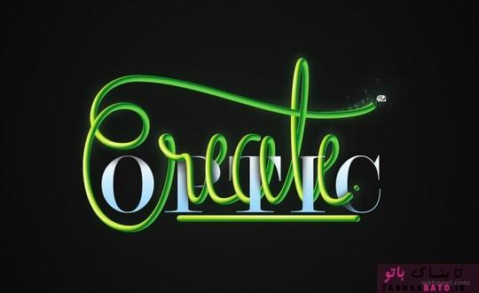 هنر تایپوگرافی خلاقانه