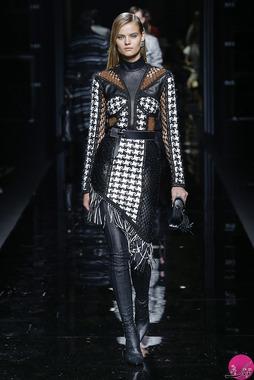 جدیدترین لباس های پاییزه و زمستانه بالمین (Balmain