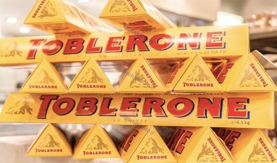 هر سال ۷ میلیون قطعه شکلات معروف تابلرون در شهر برن سوئیس تهیه وتولید می شود.