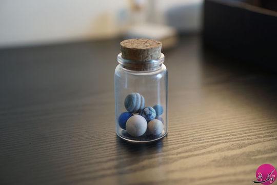 منظومه شمسی در یک بطری کوچک