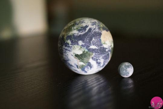 سیاره زمین و کره ی ماه