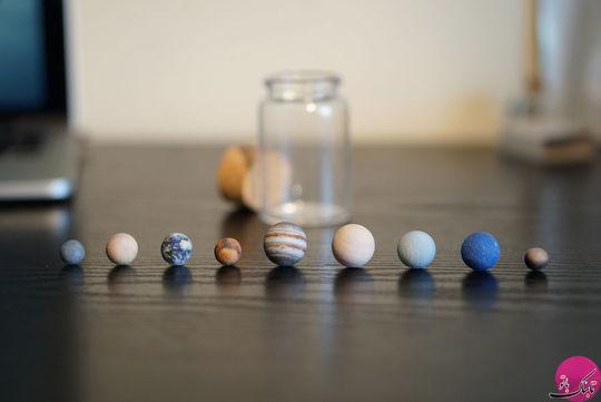 منظومه شمسی در یک بطری