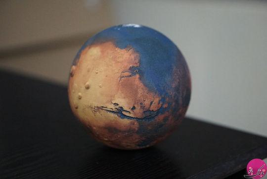 کره ی جغرافیای سیاره ی مریخ