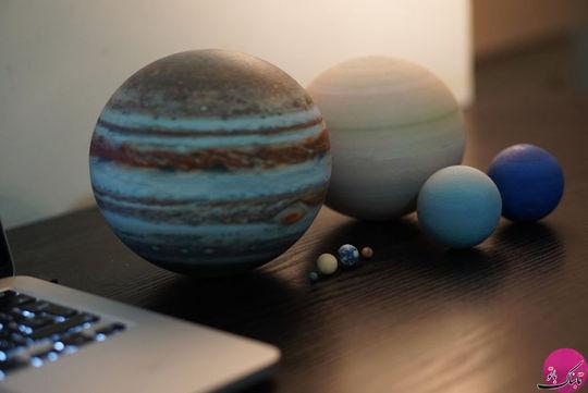 هشت سیاره ی منظومه ی شمسی
