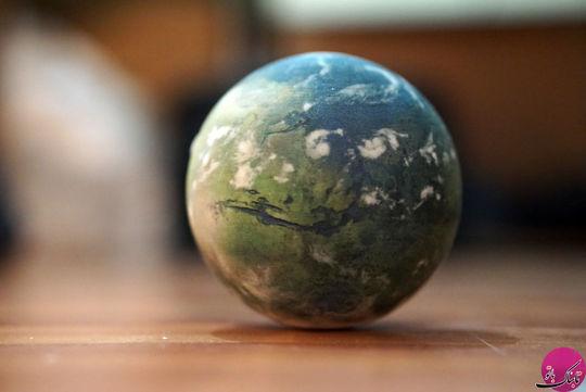 کره ی جغرافیای سیاره مریخ (دگرگون شده)