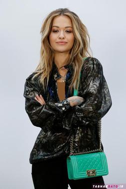 ریتا اورا (Rita Ora) خواننده بریتانیایی
