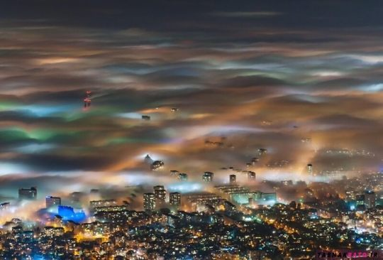 صوفیه در مه، بلغارستان