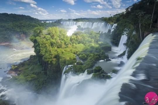 جنگل ایگوازا در مرز برزیل و آرژانتین