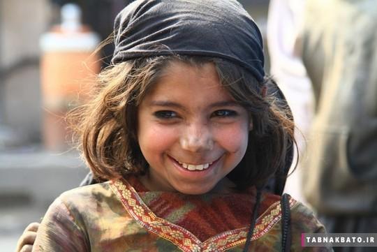 کودکی از لاهور
