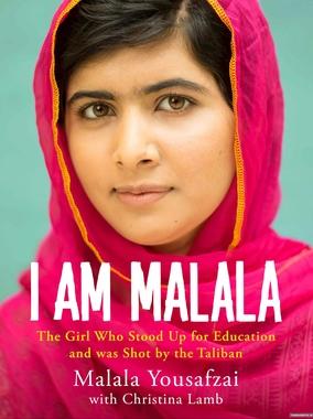 من ملاله هستم، پر فروش ترین اتوبیوگرافی سال ۲۰۱۳میلادی، ملاله از رنج ها و آرزوهایش می گوید