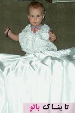 وقتی دختر او آلیسون متولد شد، برندی تصمیم گرفت تا همین کار را انجام دهد اما این بار لباس عروسی گرانقیمتش را جایگزین شلوار جین کرد