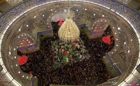 تصاویری از بارگاه زیبا و آسمانی حضرت عباس (ع)