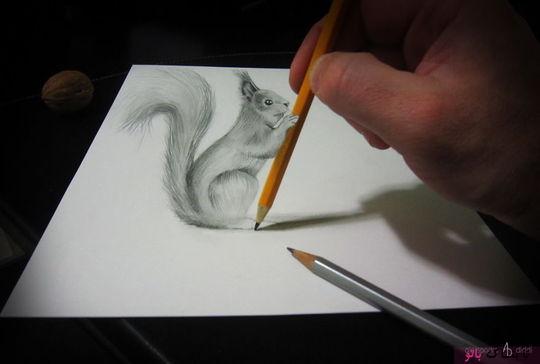 طراحی با مداد: هنر شگفتانگیز آلساندرو دیدی