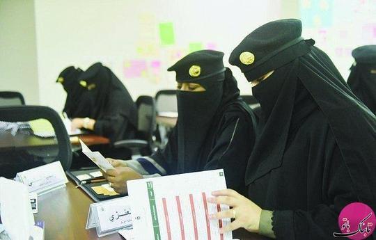 برای اولین بار زنان در نیروهای امنیتی شرکت