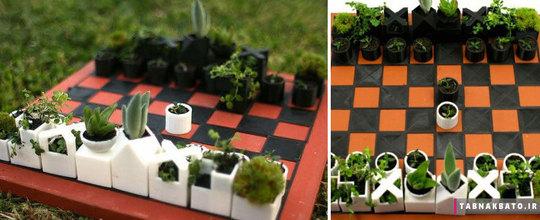 گلدلن به شکل صفحه ی شطرنج