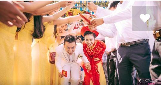 عروسی سنتی ویتنامی ها