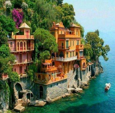 دهکده ی پورتوفینو، ایتالیا