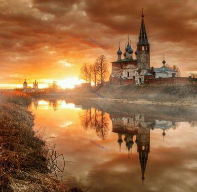 غروب آفتاب ، سنت پترزبورگ،روسیه