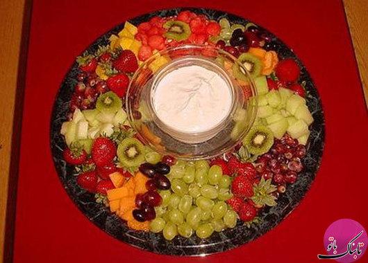میوه آرایی,سفره آرایی,آشپزی