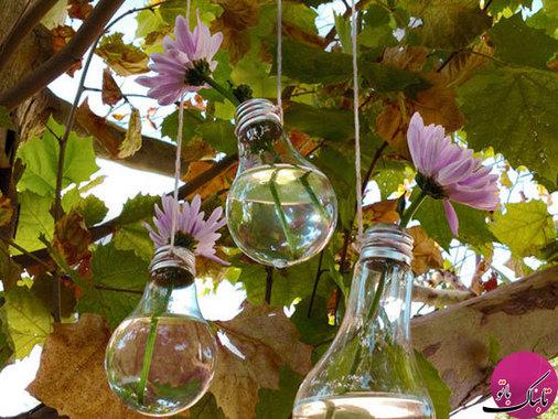 ایدههایی برای به کار گرفتن لامپهای سوخته