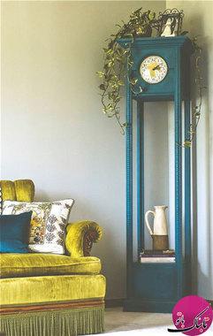 عکس تزئینات داخلی با آینههای دکوراتیو شیک