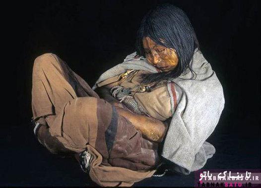 مومیایی پانصد ساله که معتاد به کوکائین بود.پژوهشگران اسم مستعار «لا دونچلا» به معنی «دوشیزه» را روی او گذاشتند.