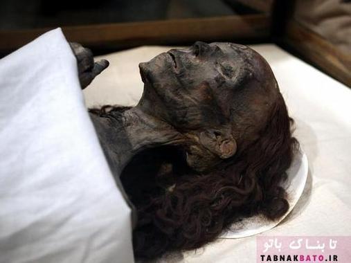 مومیای یک زن چینی در موزه مصر