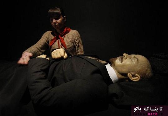 جسد مومیایی شده لنین