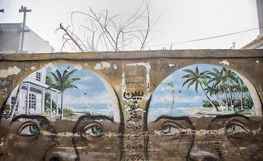 گرافیتی های زیبا در بندر عباس