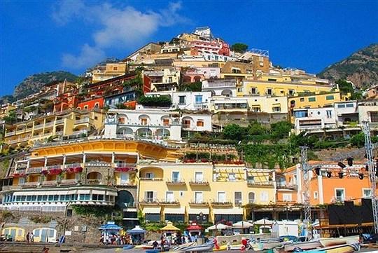 پوزیتانو در استان کامپانیا در جنوب ایتالیا.