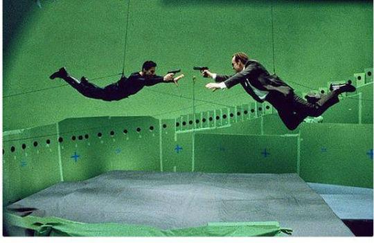 صحنه مشهور فیلم ماتریکس