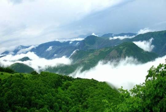 جنگل ابراین جنگل از بکرترین و قدیمی ترین جنگلهای ایران است که بیشتر مواقع فضای آن از اقیانوسی از ابر پوشیده میشود که به همین خاطر آن را «جنگل ابر» مینامند.
