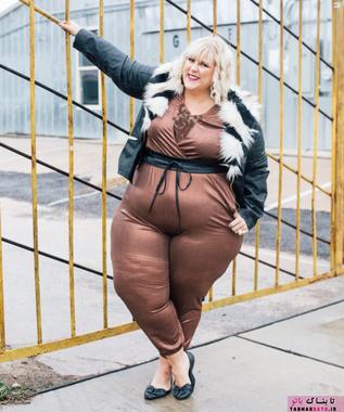 چاق ها در صنعت مد