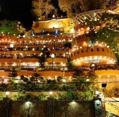 رستوران باغ بهشت؛ دربند تهران