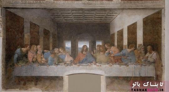 در میان نقاشی های معروف ترین در جهان؛ نقاشی های آخر هفته - لئوناردو داوینچی