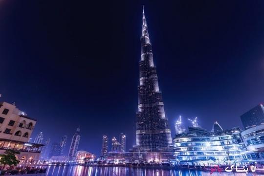 برج خلیفه دبی ـ معجزه معماری؛ بلندترین ساختمان جهان در سال 2017 دارای بیش از 200 طبقه و ارتفاع 828 متر است.
