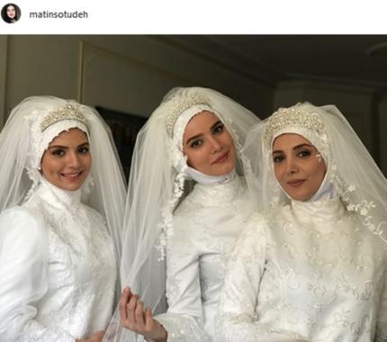 سلفی عروسها و دامادهای سریال «لیسانسهها»