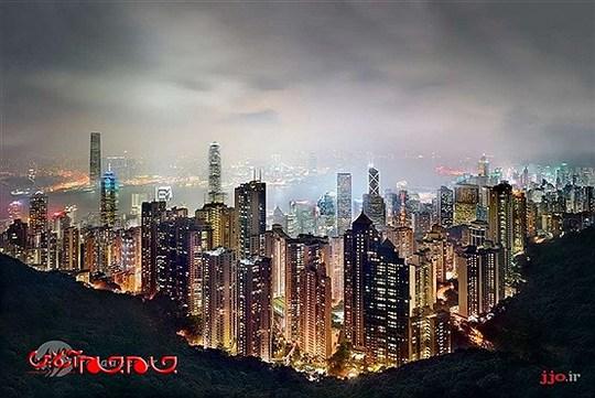 نمایی از بندرگاه، هنگ کنگ